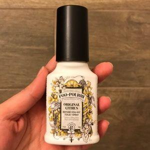 Almost new poo-pourri spray